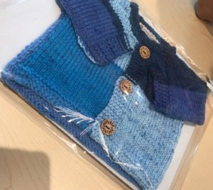baby sweater blue